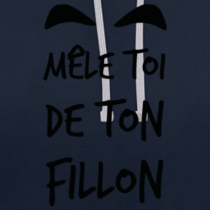 Mele_toi_de_ton_fillon_ - Sweat-shirt contraste