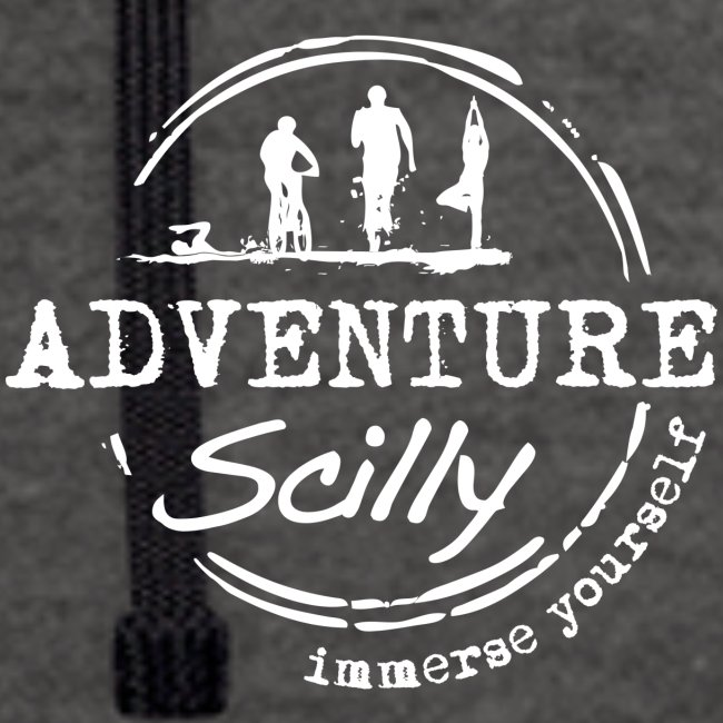Adventure Scilly Logo Whi