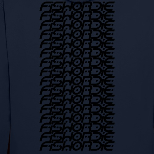 Poisson ou ça - Sweat-shirt contraste