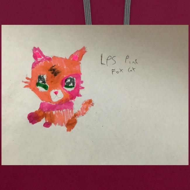 Little pet shop fox cat