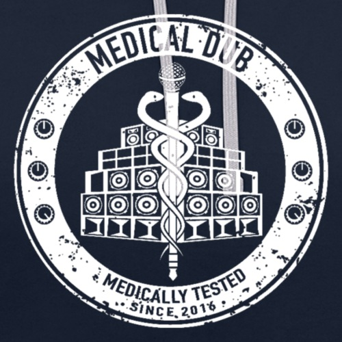 M.D - Sweat-shirt contraste