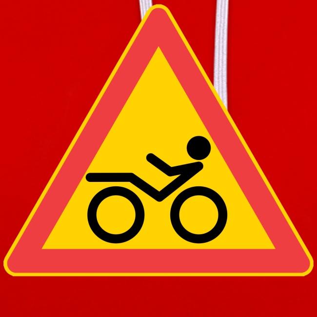 Traffic sign Recumbent
