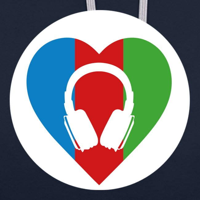Silent Disco Love | white circle