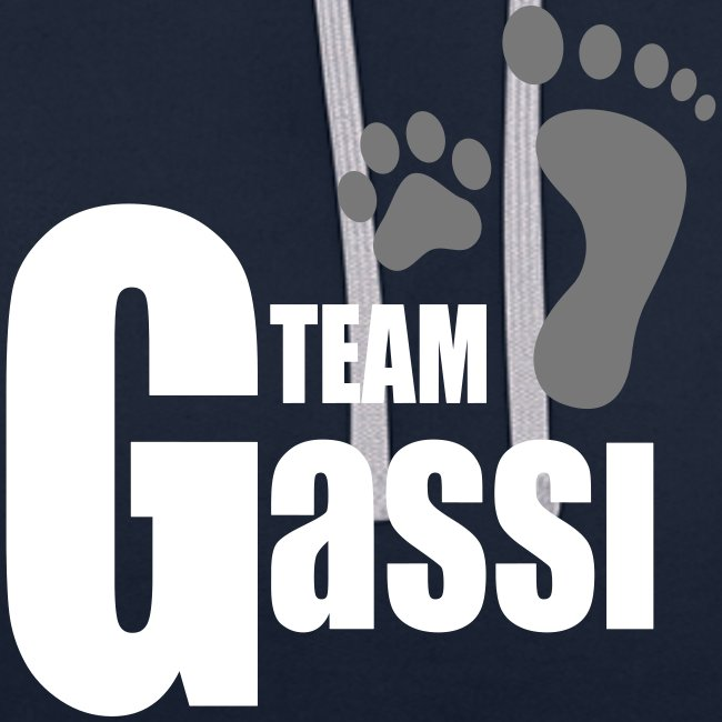 Vorschau: Team Gassi - Kontrast-Hoodie