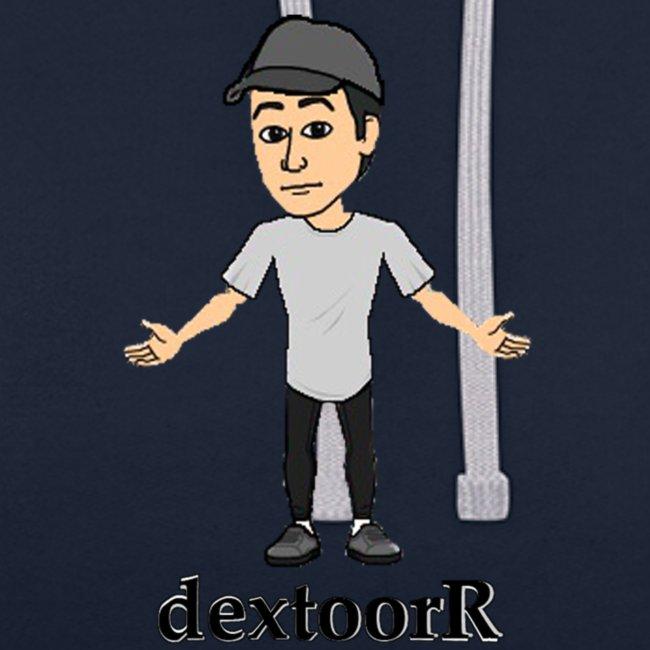 dextoorR - Bitmoji minta | Contrast Colour Hoodie