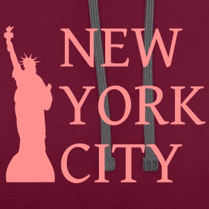 New York City - Kontrast-Hoodie