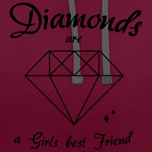 Diamonds - Sweat-shirt contraste