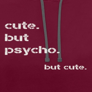 mignon mais psycho - Sweat-shirt contraste