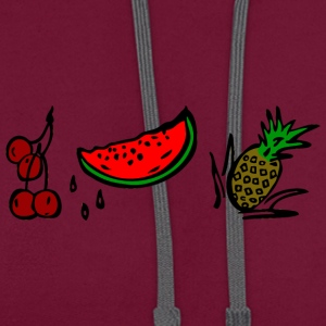FRUITS - Sweat-shirt contraste