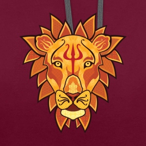 Lion - Sweat-shirt contraste