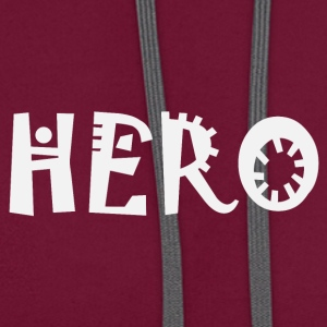 Hero 2 (2204) - Sweat-shirt contraste