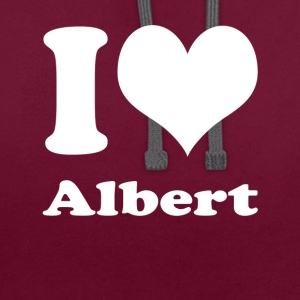 J'adore Albert - Sweat-shirt contraste