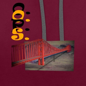 Golden gate - Sweat-shirt contraste