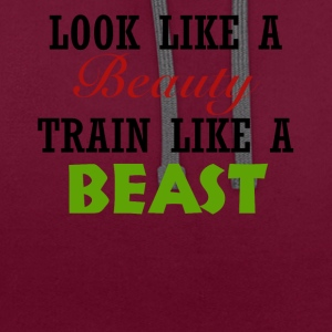 Beauté - Beast - Sweat-shirt contraste