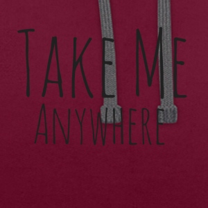 Prenez Me Anywhere - Sweat-shirt contraste