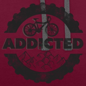 Vélo VTT Addicted - Sweat-shirt contraste