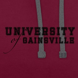 University of Gainsville - Kontrast-Hoodie