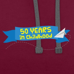 50th Anniversary: ​​50 Years in Childhood - Kontrast-hettegenser