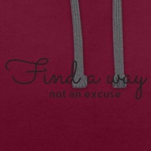Find_a_way - Sweat-shirt contraste