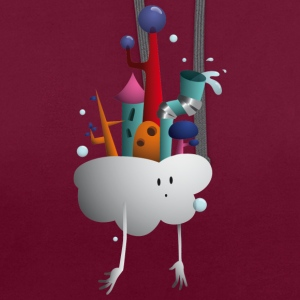 Village Nuage - Sweat-shirt contraste
