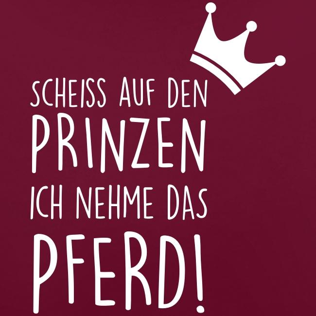 Vorschau: Prinz Pferd - Kontrast-Hoodie