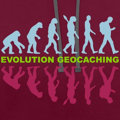 Evolution Geocaching - Kontrast-Hoodie