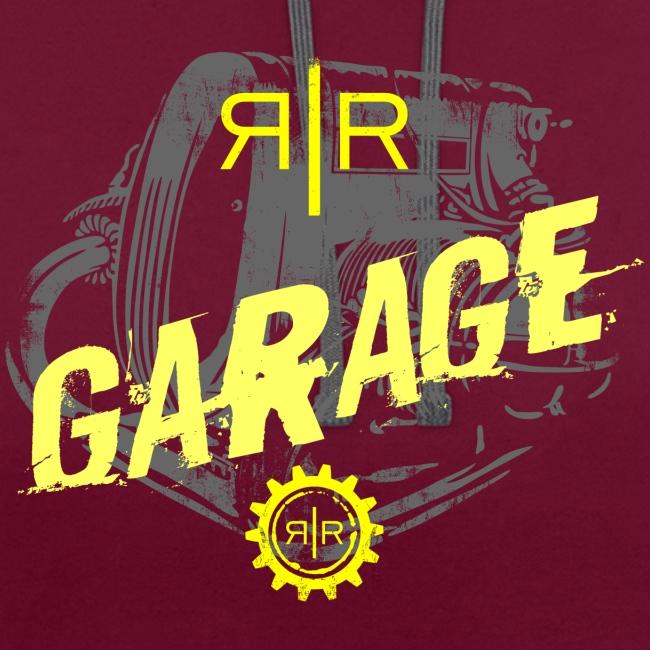 RR Garage Custom motorcycles Firenze engine logo