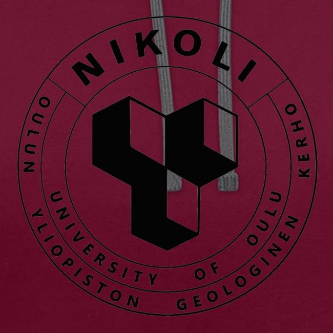 Nikolin musta logo