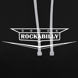 Rockabilly-shirt - Sweat-shirt contraste
