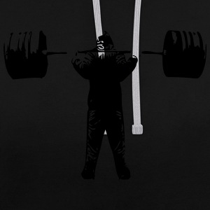 squat Barbell - Sweat-shirt contraste