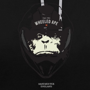 Le Design Deux roues Ape Big Head - Sweat-shirt contraste