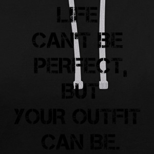 Motivation de vie - Sweat-shirt contraste