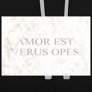Amor - Sweat-shirt contraste