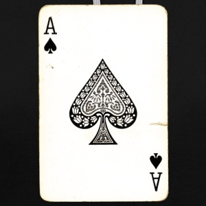 Games Card Ace Of Spades - Contrast Colour Hoodie