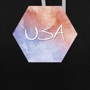 USA - États-Unis - Sweat-shirt contraste