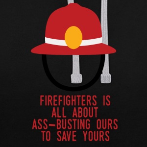 Brandweer: Fire Fighters is alles over ass-busting - Contrast hoodie