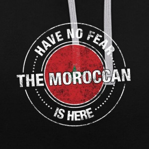 Avez-No Fear The Moroccan Is Here Shirt - Sweat-shirt contraste