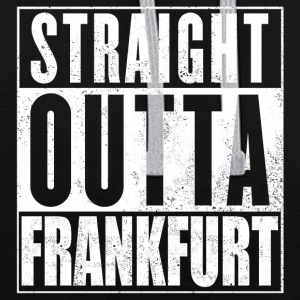 Straight Outta Francfort - Sweat-shirt contraste