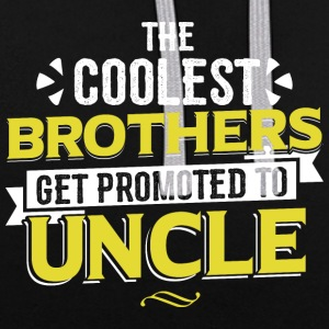 COOLEST BROTHERS GET UNCLE PROMU - Sweat-shirt contraste