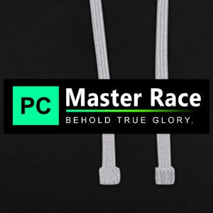 PC Master Race - Contrast hoodie