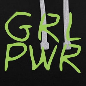 girl Power - Kontrast-hettegenser