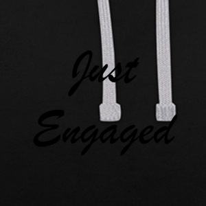 Just Engages - Contrast Colour Hoodie