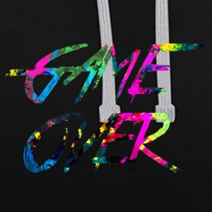 rainbow Game over - Sweat-shirt contraste