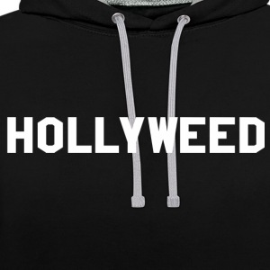 Hollyweed - Sweat-shirt contraste