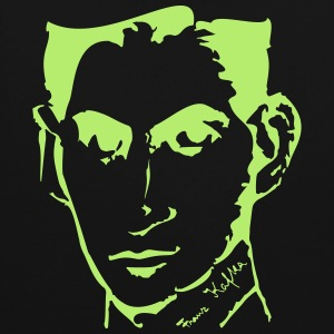 Portrait of Franz Kafka, - Contrast Colour Hoodie