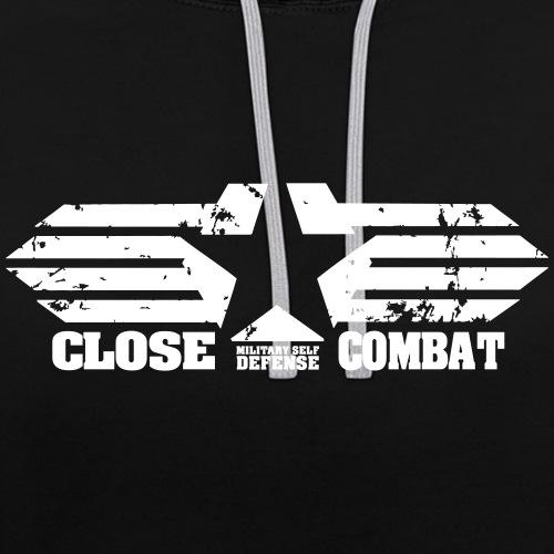 final_cc_logo_SW - Kontrast-Hoodie