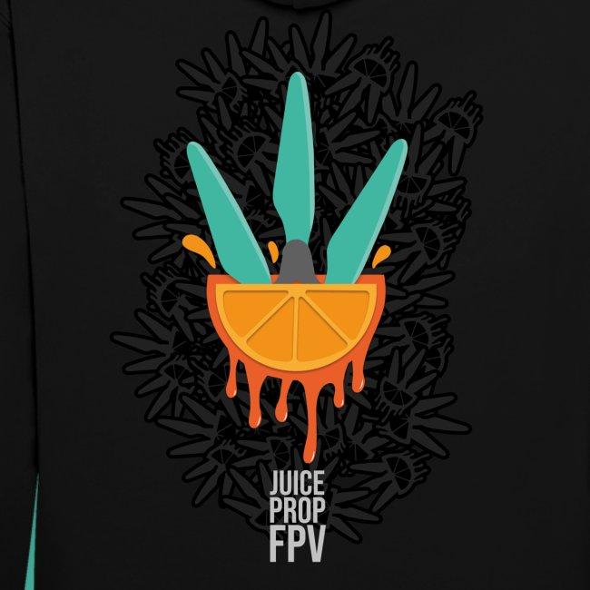 JuicePropFPV LOGO Pile TEXT Black DOUBLE