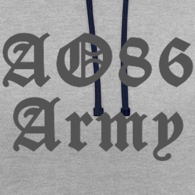 T Shirt Army grau png