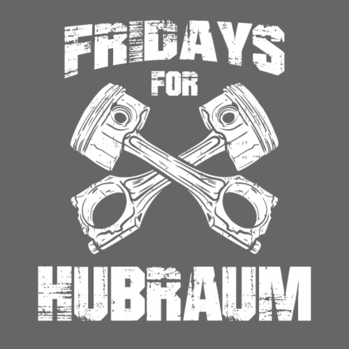 Fridays For Hubraum - Kontrast-Hoodie