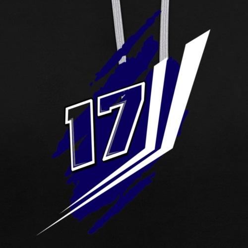 17 Crizz Team - Contrast hoodie